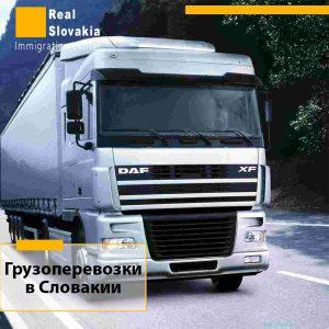 Открыть фирму по грузоперевозкам в Словакии